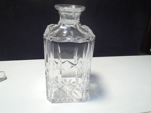 PAIR (2) ATLANTIS CRYSTAL DECANTERS~~~nice ones