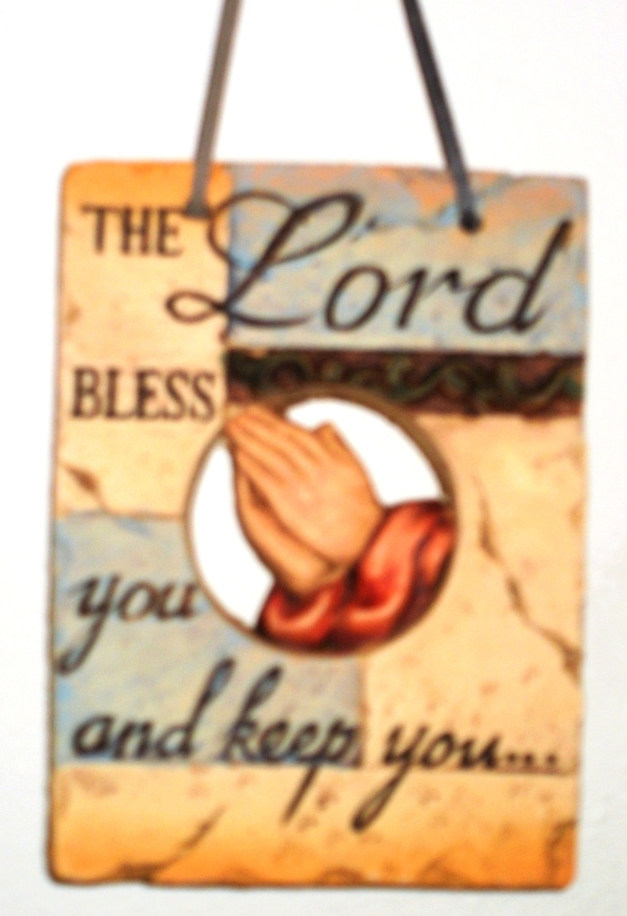 The lord bless and keep