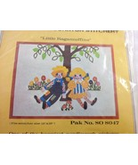 "Bernat Little Ragamuffins Crewel Needlework Kit NEW 8047 12 x 16"" - $38.17"