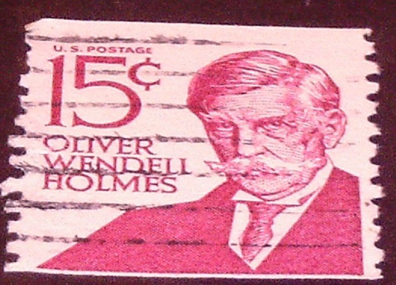 Oliver Wendell Holmes 15 Cent Coil U.S.Postage Stamp For Collection Set 3 stamps