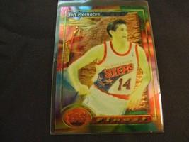 1993-94 Topps Finest  #188 Jeff Hornacek -Philadelphia 76ers- - $3.12