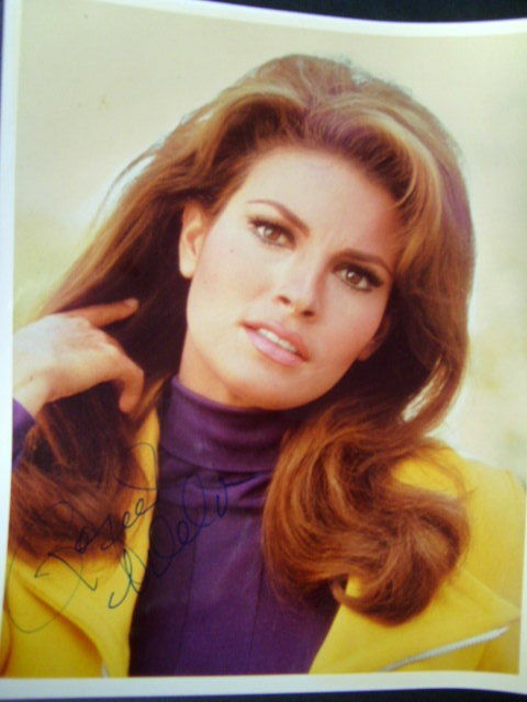 RAQUEL WELCH,AUTOGRAPH  (BLACK WIDOW)  LETTER TO PLAY THE MARVEL SUPERHERO