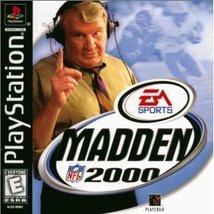 Madden NFL 2000 [PlayStation] - $19.99