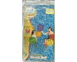 Inflatable vinyl beach ball 20 inch spotted transparent new in package  2  thumb155 crop