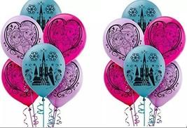 Disney Frozen 12 Inch Latex Balloons 12 Count - $8.17