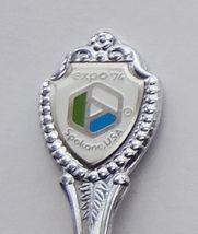 Collector Souvenir Spoon USA Washington Spokane Expo 1974 Emblem - $2.99