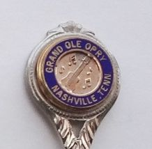Collector Souvenir Spoon USA Tennessee Nashville Grand Ole Opry Cloisonne - $2.99