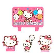 1 X Hello Kitty Mini Molded Candles - 4/Pkg. - $6.88