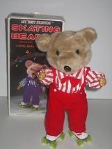 "AMC 1985 My Best Friends 14"" Skating Bear w/Music **WORKS** - $29.69"
