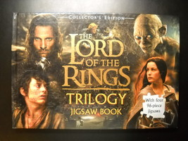 Lord Of The Rings 2004 Triliogy Jigsaw Book 96 Piece Jigsaws Complete Fi... - $10.99