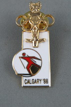 Very Rare - 1988 Winter Olympc Games - Polish Olympic Committee Pin - 3 of 1000 - $45.00