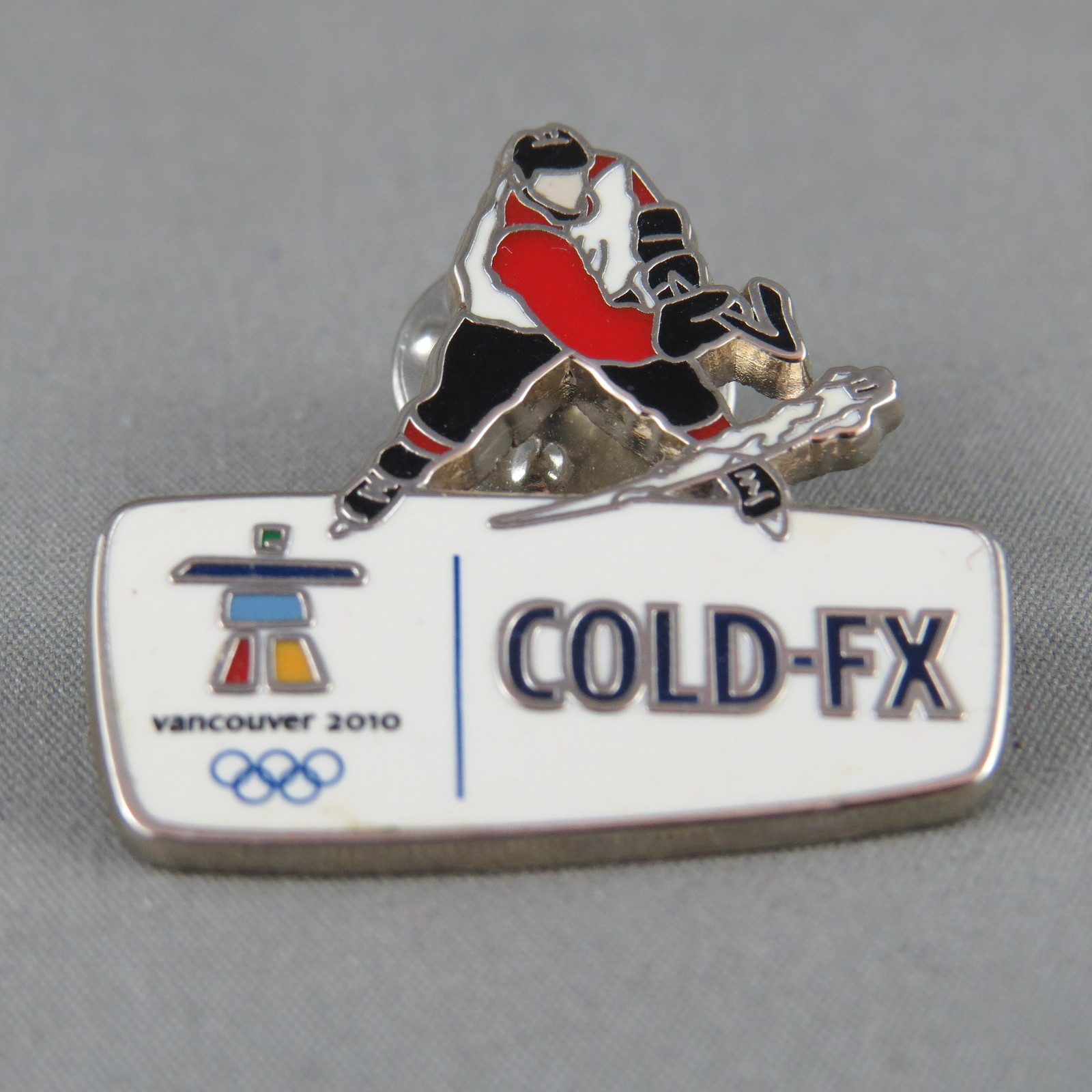 Primary image for 2010 Winter Olympic Games - Cold FX Sponsor Pin - Vancouver BC Canada
