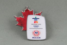 2010 Winter Olympic Games - Molson (Beer) Sponsor Pin - Vancouver BC Canada - $15.00