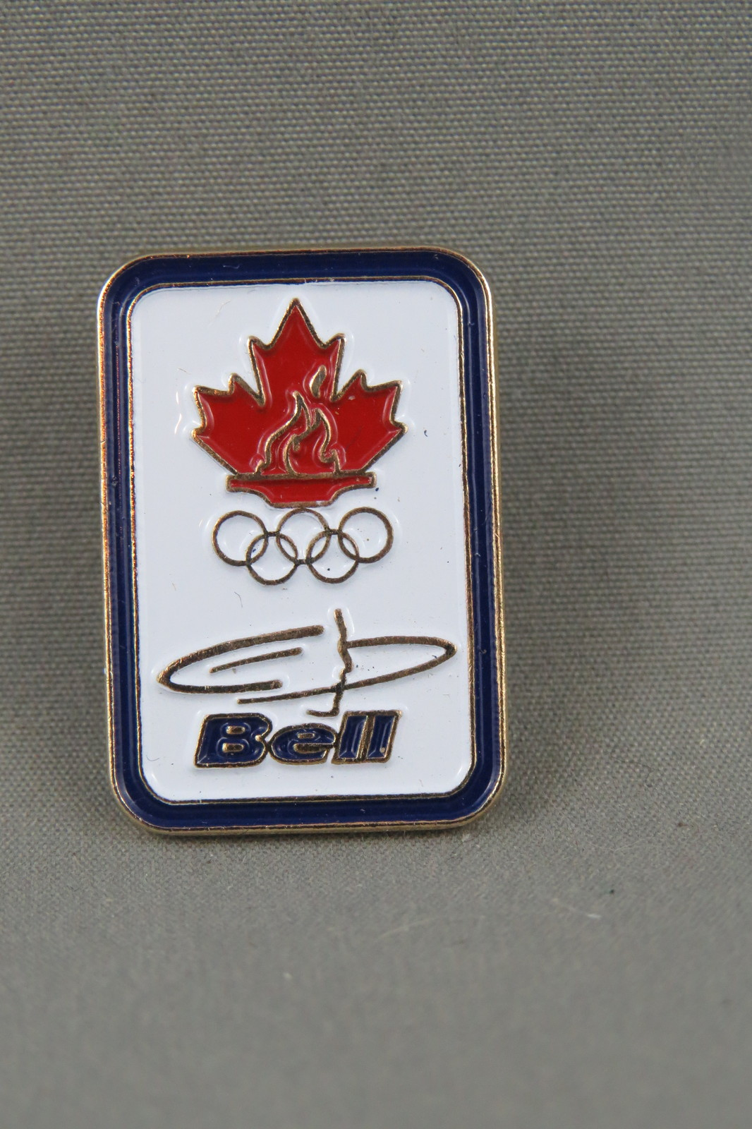 Primary image for 2010 Winter Olympic Games - Bell Media Sponsor Pin - Vancouver BC Canada
