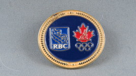 2010 Winter Olympic Games - Royal Bank Sponsor Pin - Vancouver BC Canada - $15.00