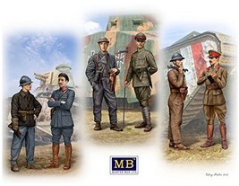 Masterbox 1:35 Scale Tankmen of WWI Era Construction Kit Grey - $33.20