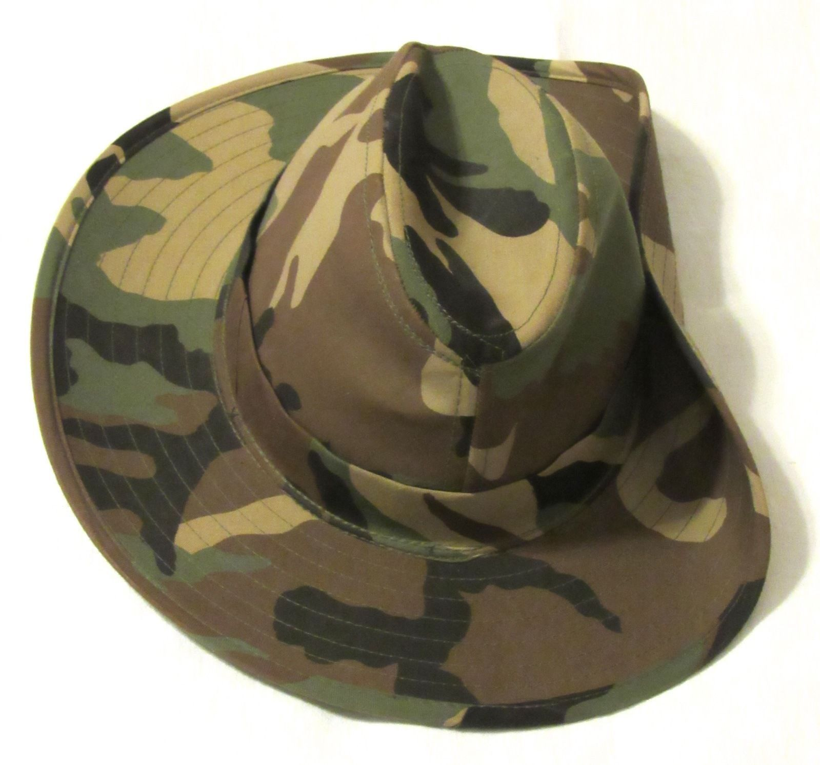 Camouflage Hunting Military Outdoor Explorer Camo Hat - No Drawstring Size: M