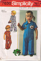1976 TODDLERS' JUMPSUIT Pattern 7630-s Size 2 - UNCUT - $10.69