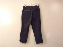 Liz Claiborne Dark Gray Jeans Capri Pants, size 12 Petite image 2