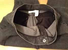 Liz Claiborne Dark Gray Jeans Capri Pants, size 12 Petite image 8