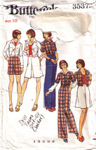 Vtg Jacket-Skirt-Pants-Shorts Pattern 3537-b  Size 10 - $12.59