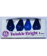 Vtg GE TWINKLING C-7 Christmas Light Bulbs C7 - #3 - $10.00