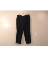 Mens Brooks Brothers Dark Gray Chalk Stripe 1005 Wool Dress Pants - $34.99