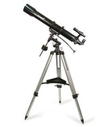 Skytrekker 90 - Skyline 90x900 EQ Telescope, RA Motor Drive & Accessories  - $259.95