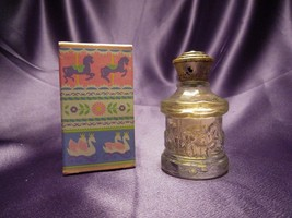 Avon Cologne Go Round Bottle Shape Honeysuckle Cologne .5fl Oz W/ Box - $19.80