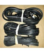 20HH36 POWER CORDS, 18 GAUGE 2 PIN 5' (MIN): (2) R-R-8, (1) R-Q-8, VERY ... - $5.84