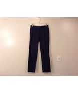 Helmut Lang Cotton Navy Blue-Black Dress Pants made in Italy, size EUR 40 - $44.99