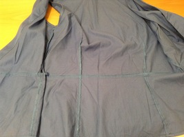 Ann Taylor LOFT Blue Sleeveless V-neck Cotton Blouse Top, size 12, shape fit image 10