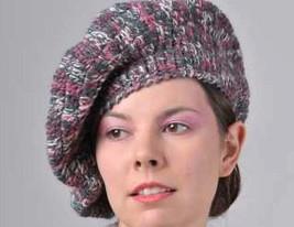 MISSONI  knitwear Italian Cappello Boina Hat Made in Italy Designer Head... - $125.00
