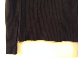 GAP Black 100% Cotton Turtleneck Knitted Cable Sweater, size L image 4