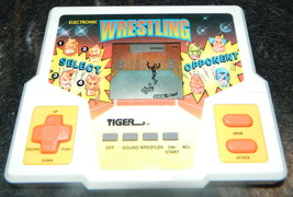 ELECTRONIC WRESTLING Handheld Game-- Tiger - $18.00