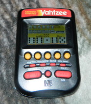 YAHTZEE HANDHELD Electronic Game--Smoke Colored - $10.00
