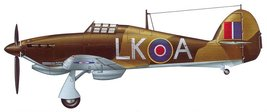 1/144 scale Resin Model Kit Hawker Hurricane North Africa - $12.00