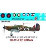 1/144 scale Resin Model Kit Hawker Hurricane Battle of Britain - $12.00