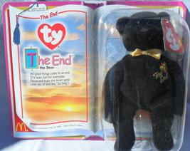 2000 Original Ty Teenie Beanie Baby THE END the BEAR Mcdonalds SEALED Exlnt Cond - $5.97