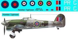1/144 scale Resin Model Kit Hawker Typhoon MK IIB - $12.00