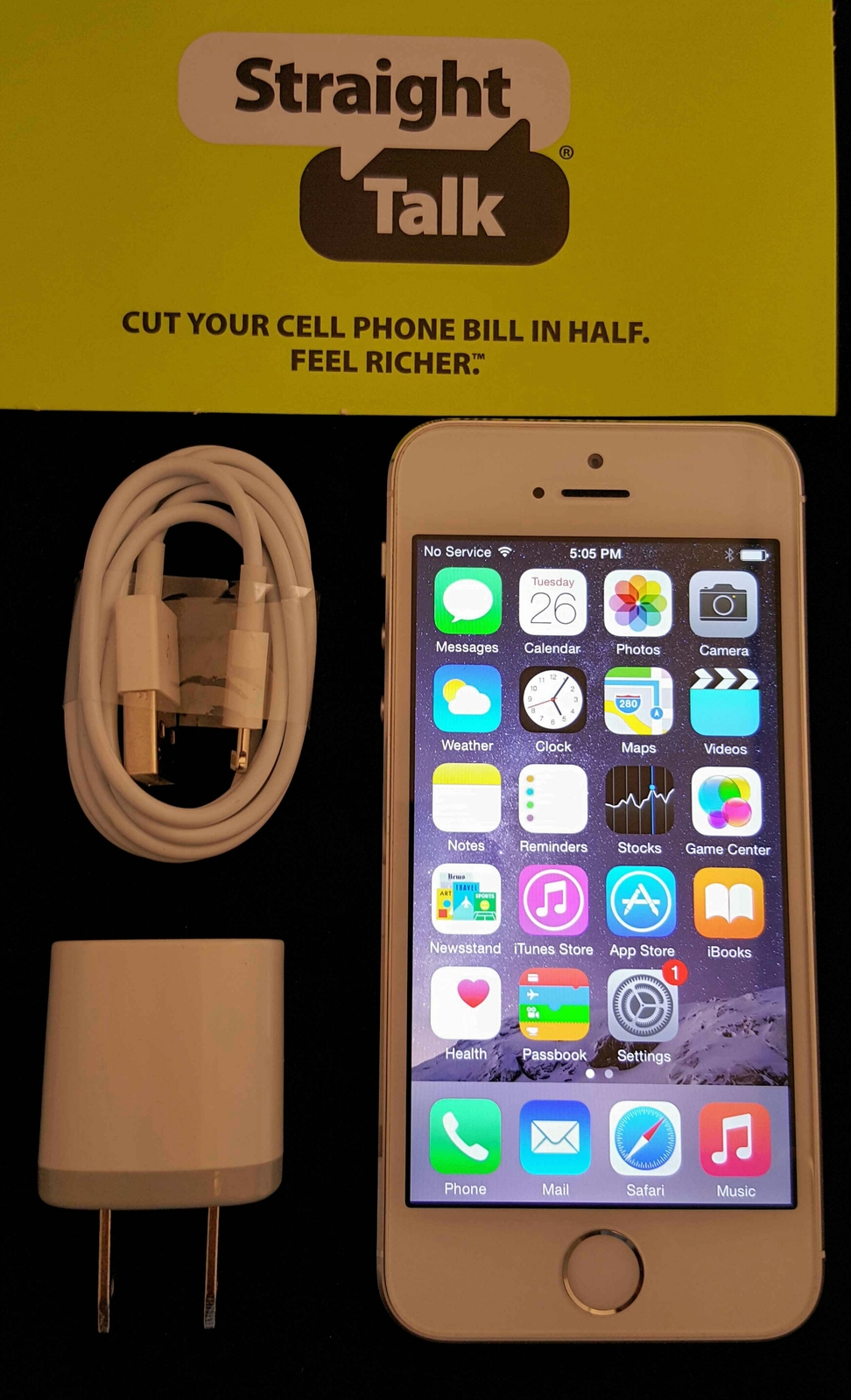 iphone 5s straight talk verizon talk apple iphone 5s silver 16gb wireless phone 1161