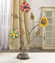 "20"" Iron Flower Design Table Decoration"