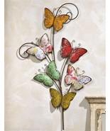 "36""  Iron Multi Butterfly Design Wall Decor Piece - $64.34"