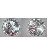 1980 P UNC SBA DOLLAR - $5.56