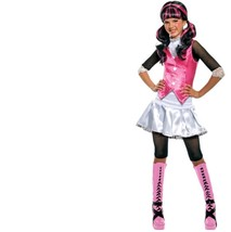 Monster High - Set - Costume + Wig - Draculaura - Child - Medium - Size 8-10 - $28.91