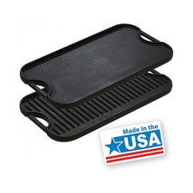 Cast Iron Griddle Camp BBQ Lodge Grill Stove To... - $59.35