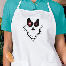 Creepy Halloween Ghost Face New Apron, Kitchen, Parties, Events, Gifts - €16,24 EUR