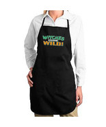 Witches Gone Wild Halloween New Apron, Kitchen, Parties, Events, Gifts - $19.99