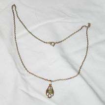 Vintage 14 KT Opal Necklace - $112.00