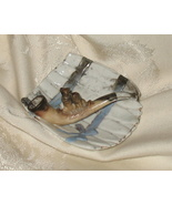 Antique Porcelain Cat Pipe Ashtray OOAK - $185.00